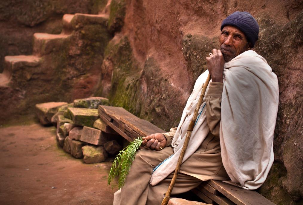 Old Man in Lalibela