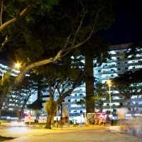 This is What Happens When You Use Long Exposure Photography in a Singaporean Neighborhood (PICS)
